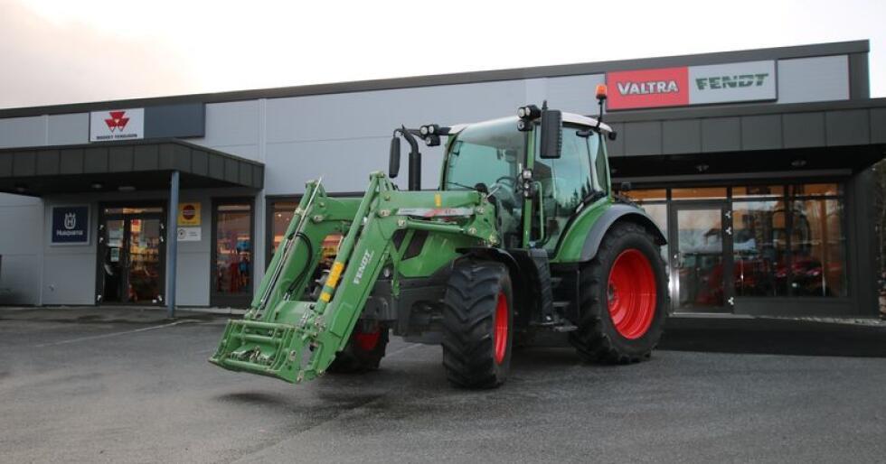Markedsleder: Fendt er det mest registrerte traktormerket i Tyskland i 2018. Foto: Trond Martin Wiersholm