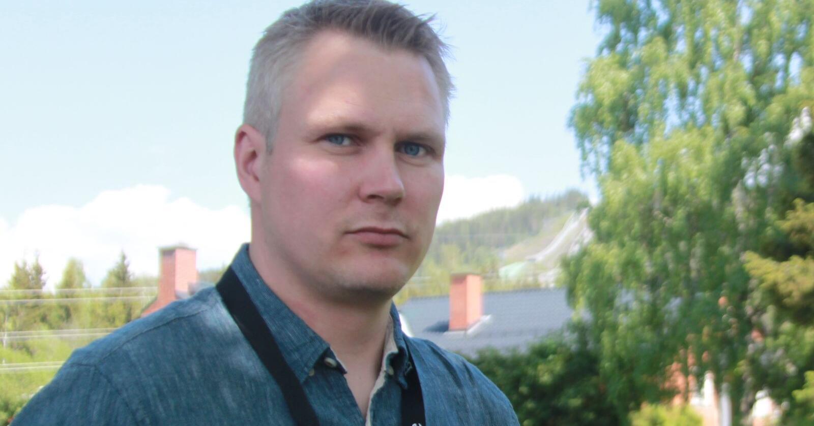 Ingvald Landet leder rovviltutvalget i Hedmark Bondelag. Foto: Svein Egil Hatlevik