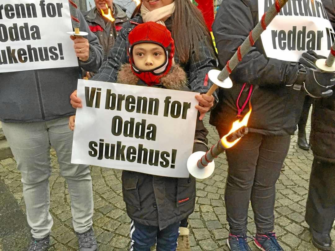 Det ligger an til stortingsflertall for å bevare akuttkirurgien i Odda. Foto: Siri Juell Rasmussen