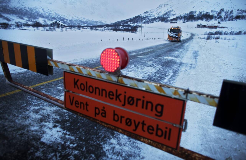 Fjellovergang Hardangervidda