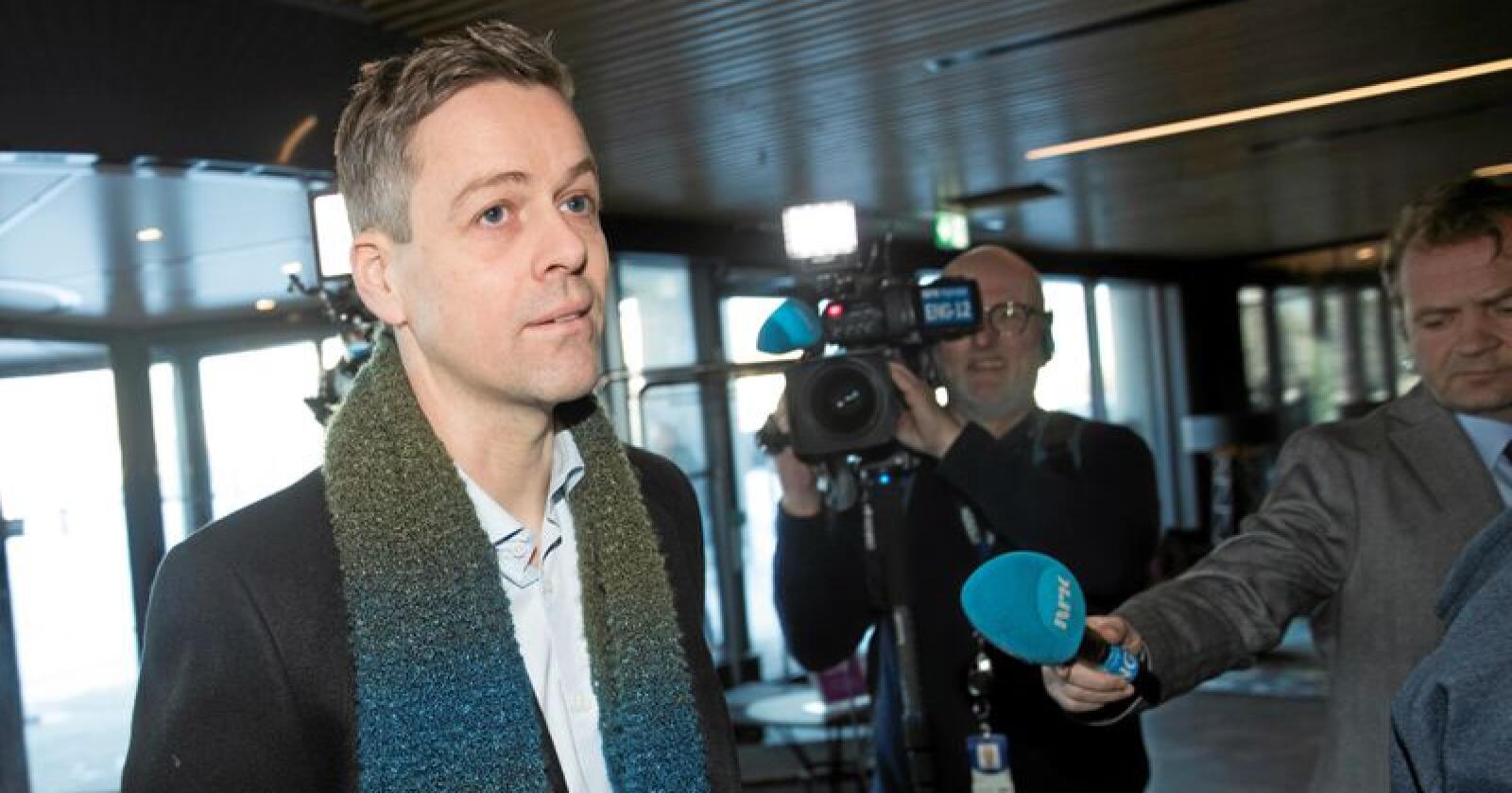 Ringvirkninger: Etter Knut Arild Hareides avgang som partileder har flere sentrale personer i partiet meldt seg ut. Foto: Terje Bendiksby / NTB scanpix
