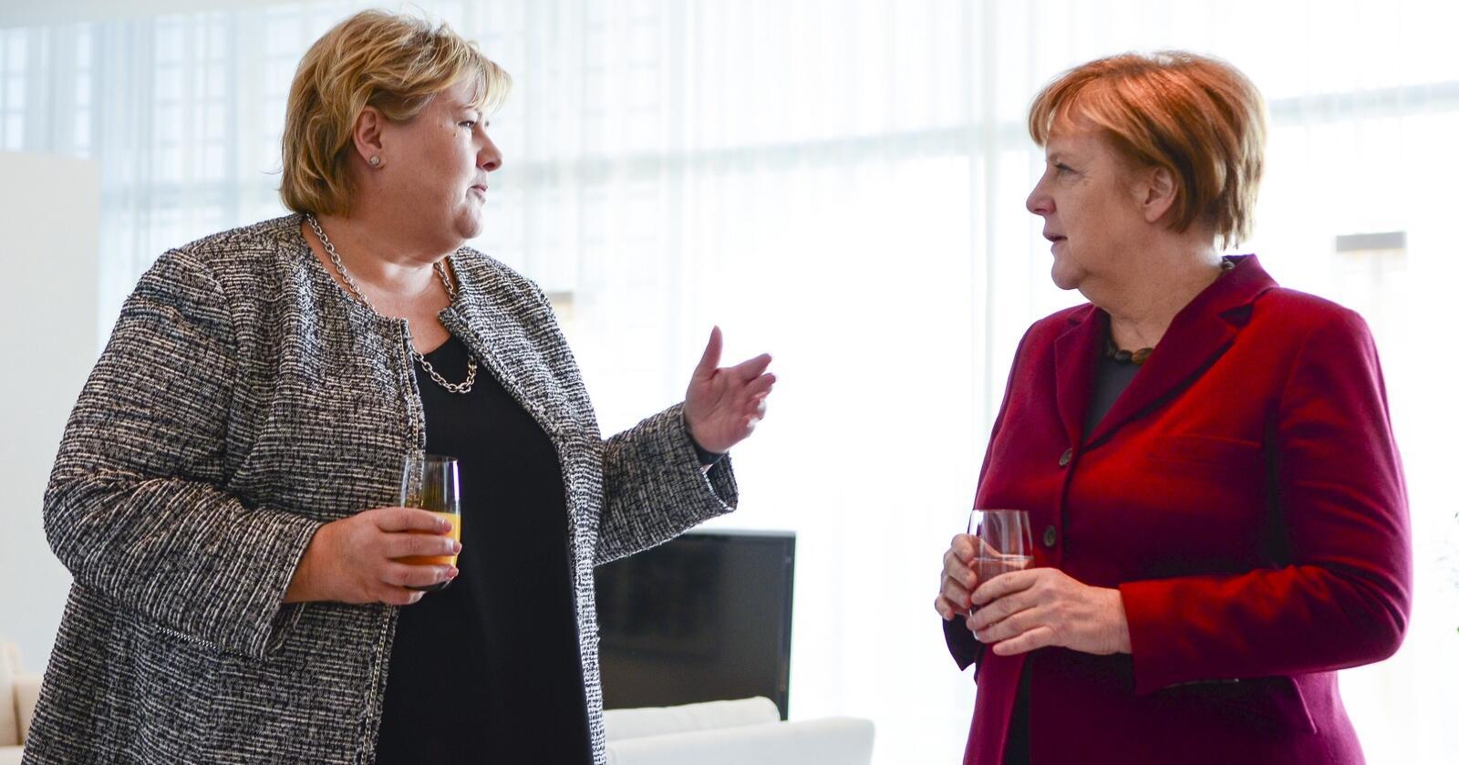 I mars var prøvetiden for den nye kraftkabelen til Tyskland ferdig . Denne uken markerer statsminister Erna Solberg og tyskernes kansler Angela Merkel oppstart og full drift for Nordlink. Eksperter Nationen har snakket med forteller at denne kabelen er årsaken til rekordprisene på strøm i Sør-Norge i april.Foto: Johan Falnes / NTB