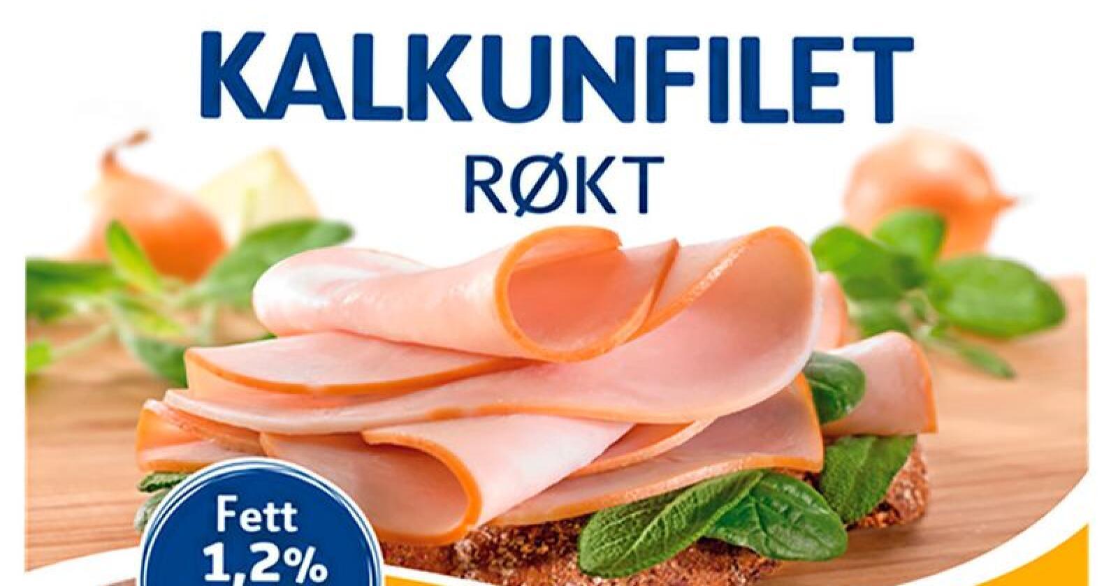 Prior Kalkunfilet Røkt tilbakekalles grunnet allergener Produktet kan inneholde spor av egg. Foto: Nortura / NTB scanpix