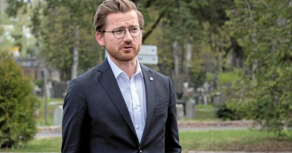 Sveinung Rotevatn, statssekretær i Klima- og miljødepartementet (V). Foto: Vidar Ruud / NTB scanpix