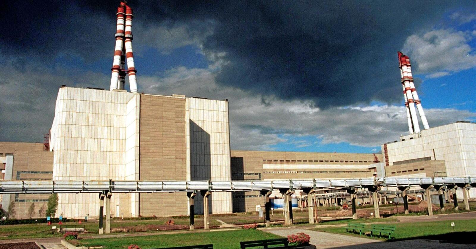 Kraftverk som Ignalina i Litauen (bildet) gir restavfall som er farlig i århundrer.  Foto: Nordbild