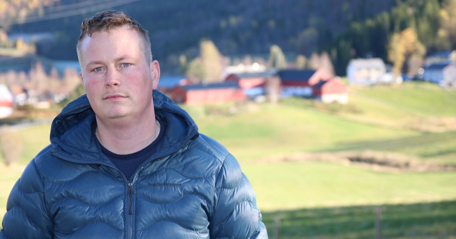 Hvis dette forslaget går gjennom, blir det en katastrofe for den grønne utdanninga i Nordland, mener fylkesleder Trond Bjørkås i Nordland Bondelag. (Foto: Lars Olav Haug)