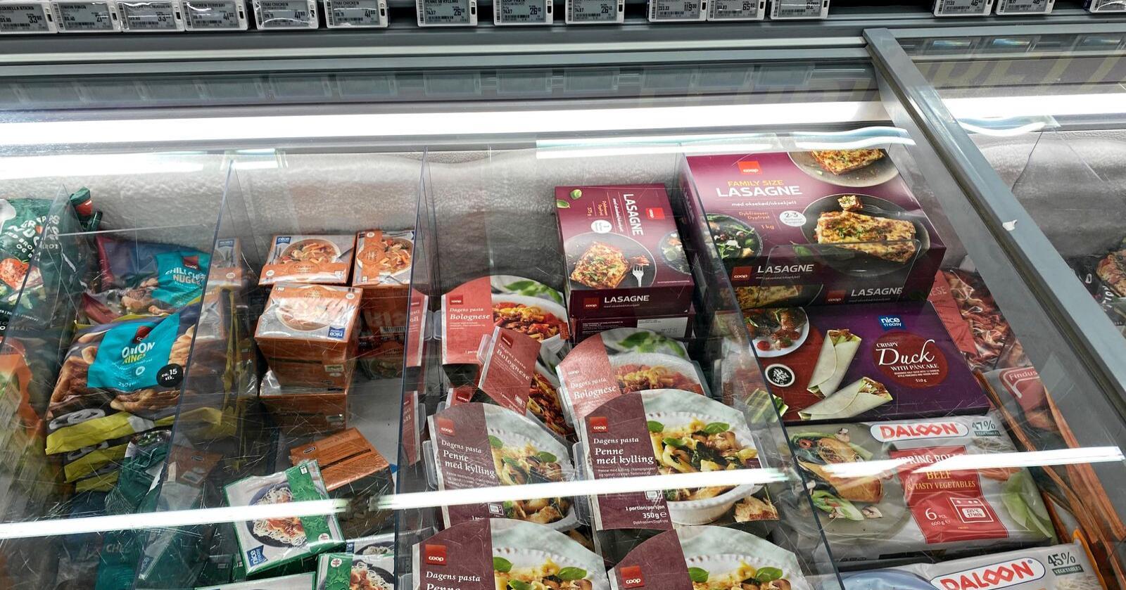 Tilslørte bondevarer: EMV-produkter lar kjedene anynymisere og utnytte matproduksjon. Foto: Sigurd Lein Hernes