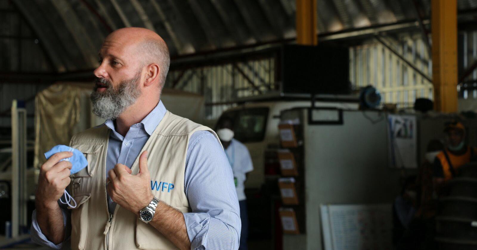 Matthew Hollingworth er direktør for verdens matvareprogram i Sør-Sudan. Foto: World Food Program
