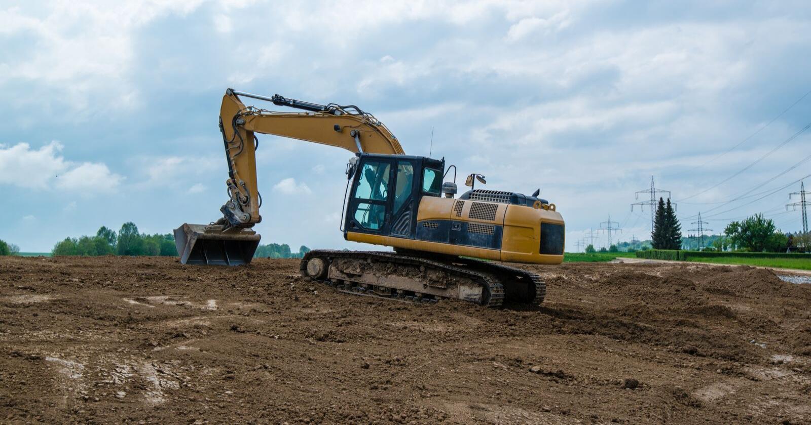 Nedbyggingen av dyrka jord har gått ned i seinere år. Sp foreslår nå et skjerpet jordvernmål, slik at maksimal tillatt nedbygging årlig halveres fra dagens mål. Foto: Mostphotos