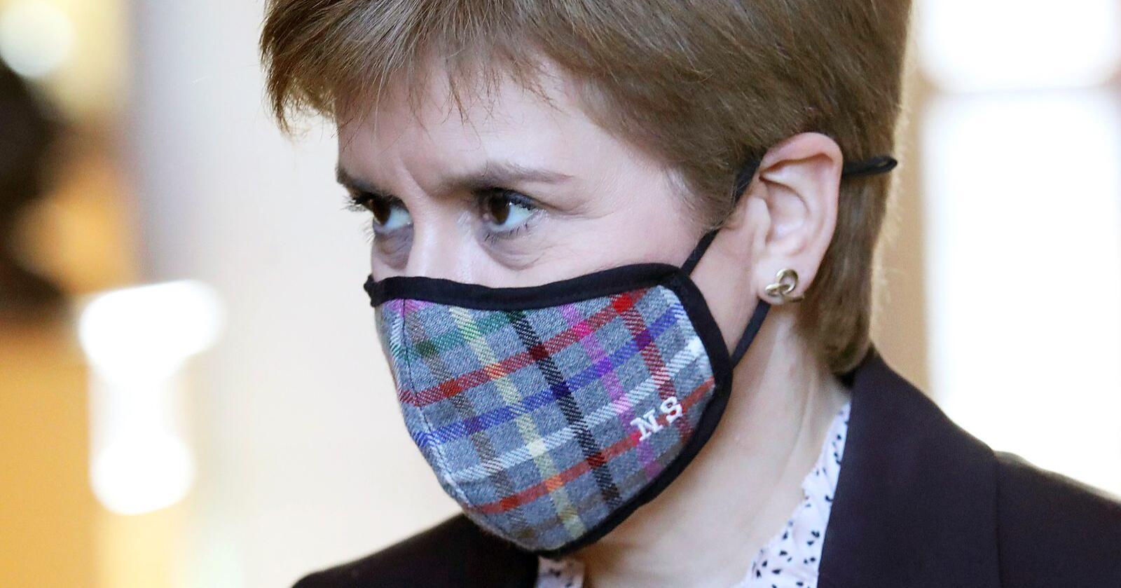 Skottlands førsteminister Nicola Sturgeon. Foto: Andrew Milligan / PA via AP / NTB