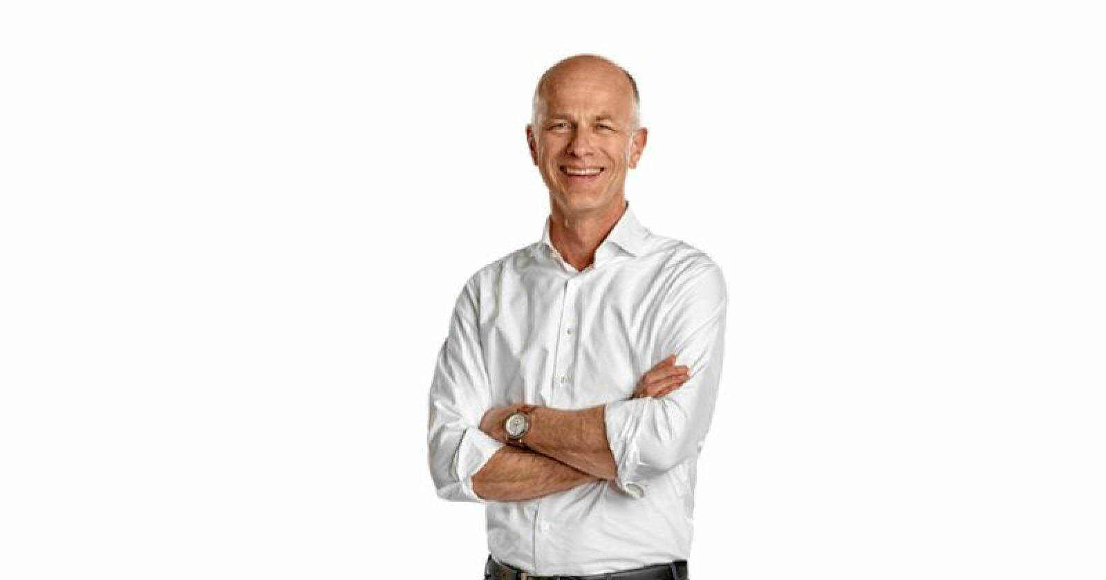 Martin Bijl slutter som direktør i Topigs Norsvin for å gå til ny jobb i et frøselskap. Foto: Topigs Norsvin/Frank Holm