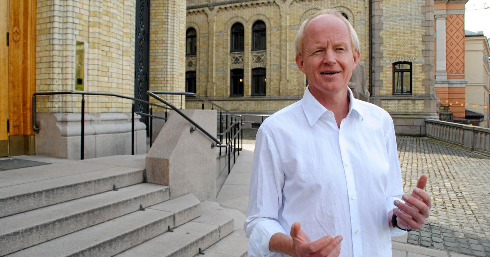 Lars Haltbrekken er stortingsrepresentant for SV. Foto: Lars Bilit Hagen
