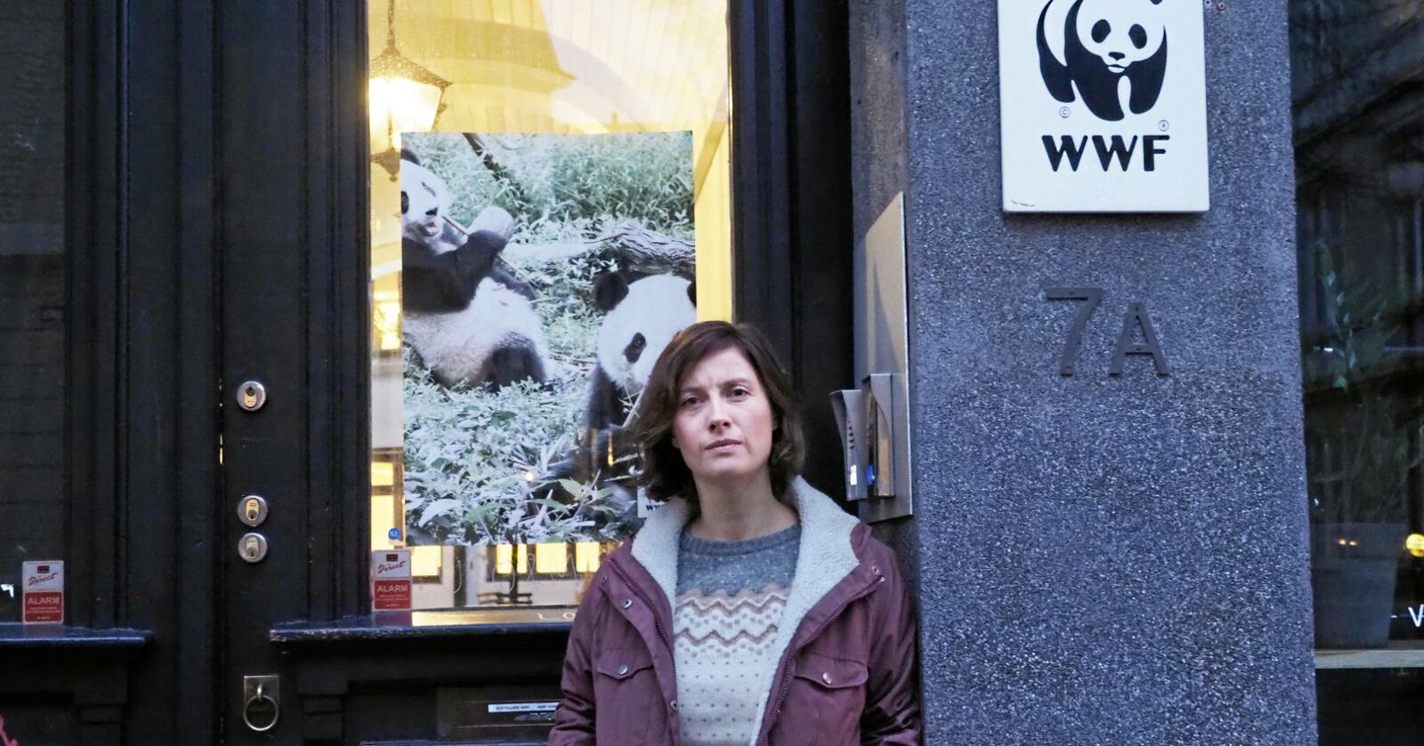 Ingrid Lomelde, miljøpolitisk leder i WWF, vil vite hvor grensa går i ulveforvaltningen. Foto: Siri Juell Rasmussen