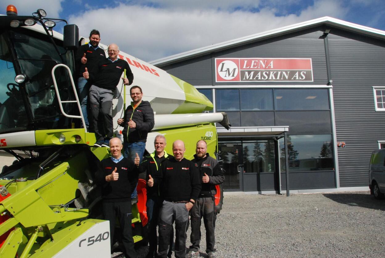 De ansatte gleder seg til å komme i gang i ny avdeling på Hensmoen ved Hønefoss. Foto: Lena Maskin