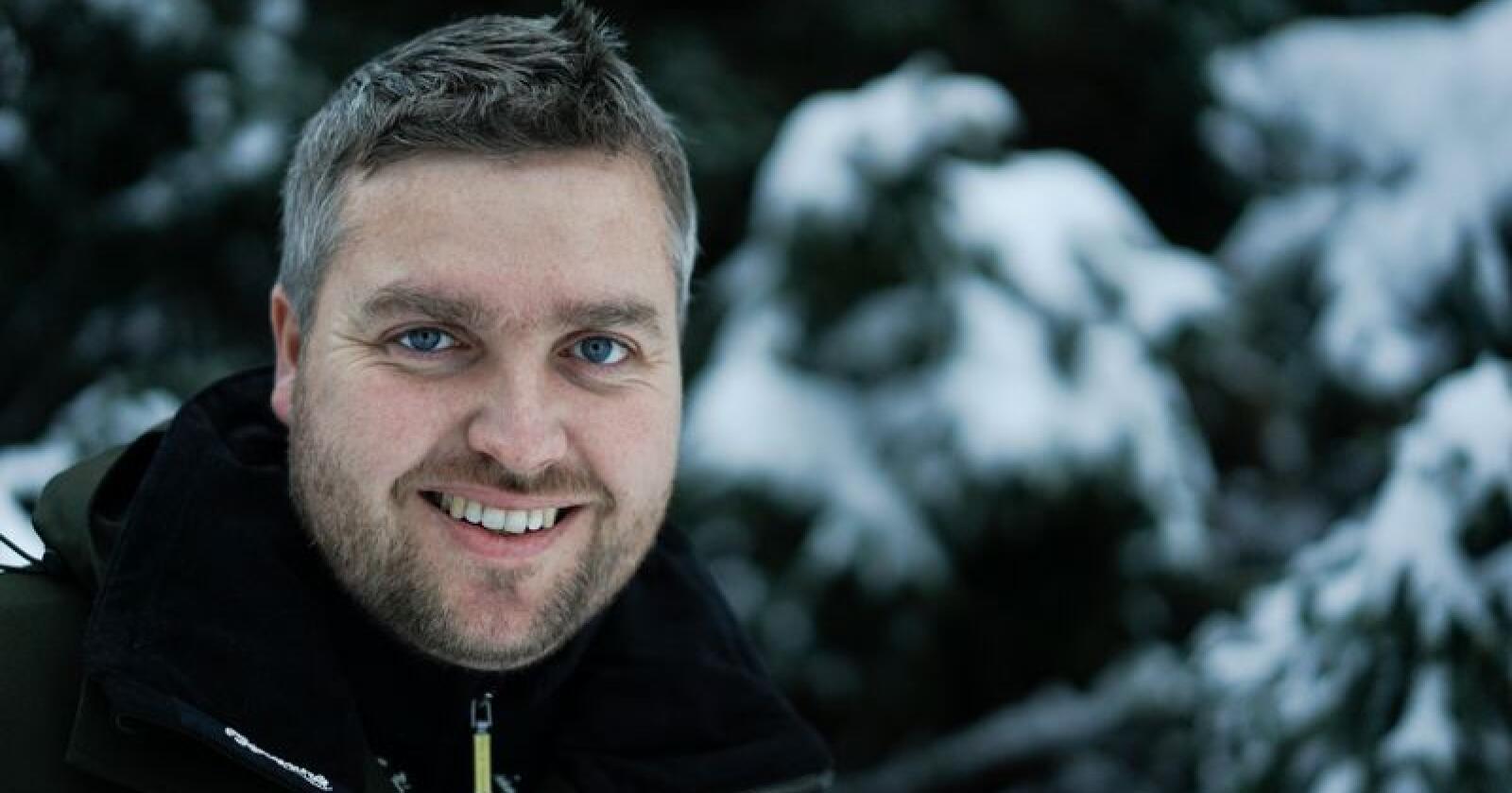 Knut Arne Gjems, leder i NJFF Hedmark. Foto: Benjamin Hernes Vogl/Nationen