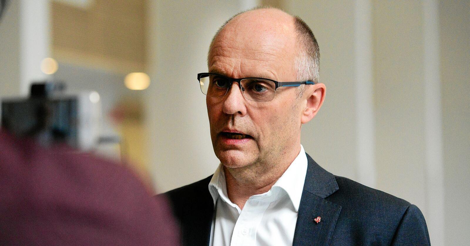 Steinar Reiten, stortingsrepresentant for KrF. Foto: Siri Juell Rasmussen