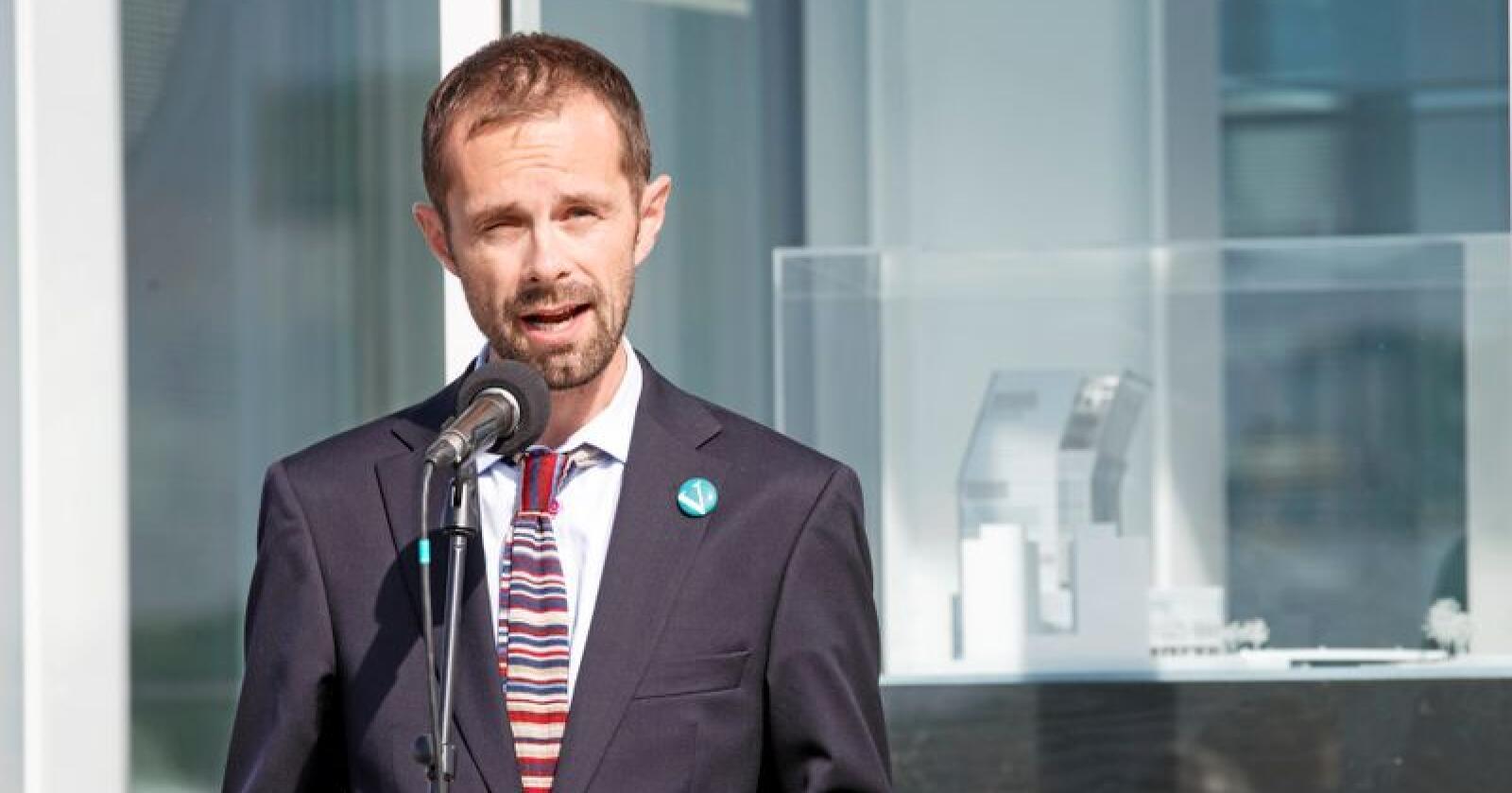 Hallstein Bjercke (V) har vært kulturbyråd i Oslo. Foto: Gorm Kallestad / NTB scanpix
