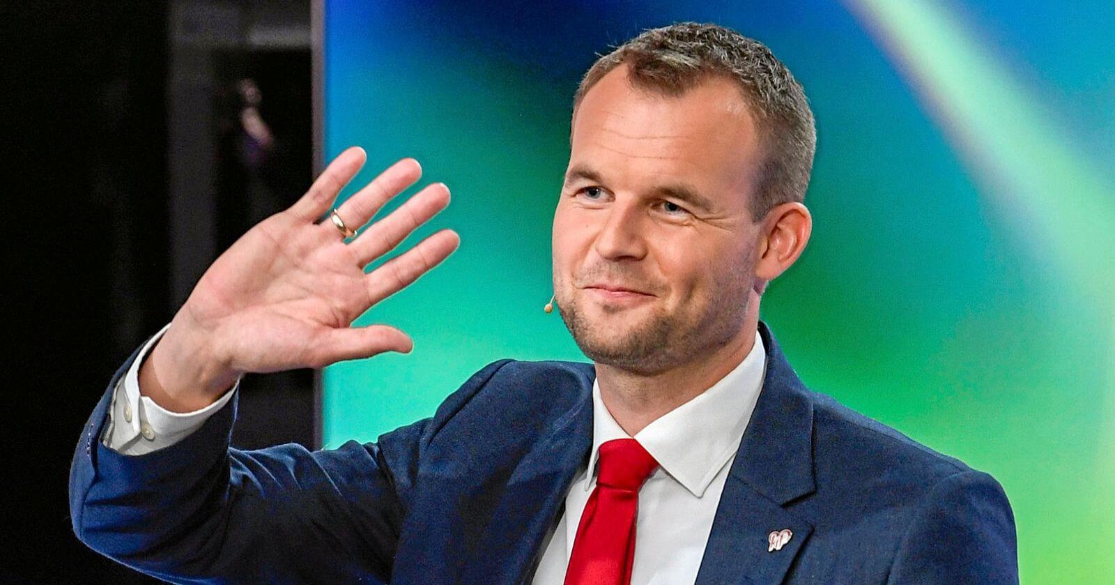 Kjell Ingolf Ropstad vil ikke at distriktene skal lide for offensiv klimapolitikk. Foto: Marit Hommedal / NTB scanpix