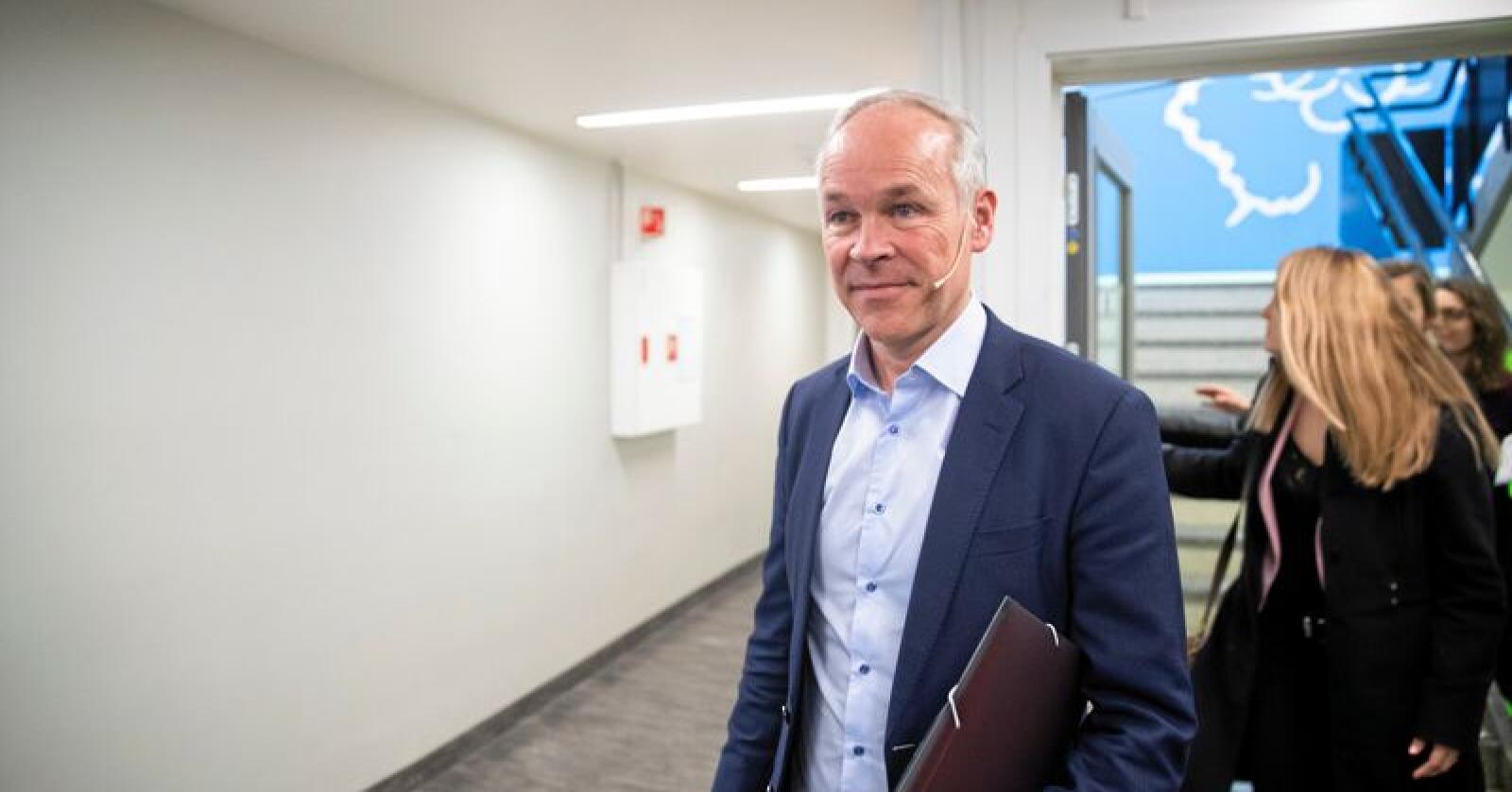Regjeringen og kunnskaps- og integreringsminister Jan Tore Sanner vil styrke fagskolene. Foto: Berit Roald / NTB scanpix