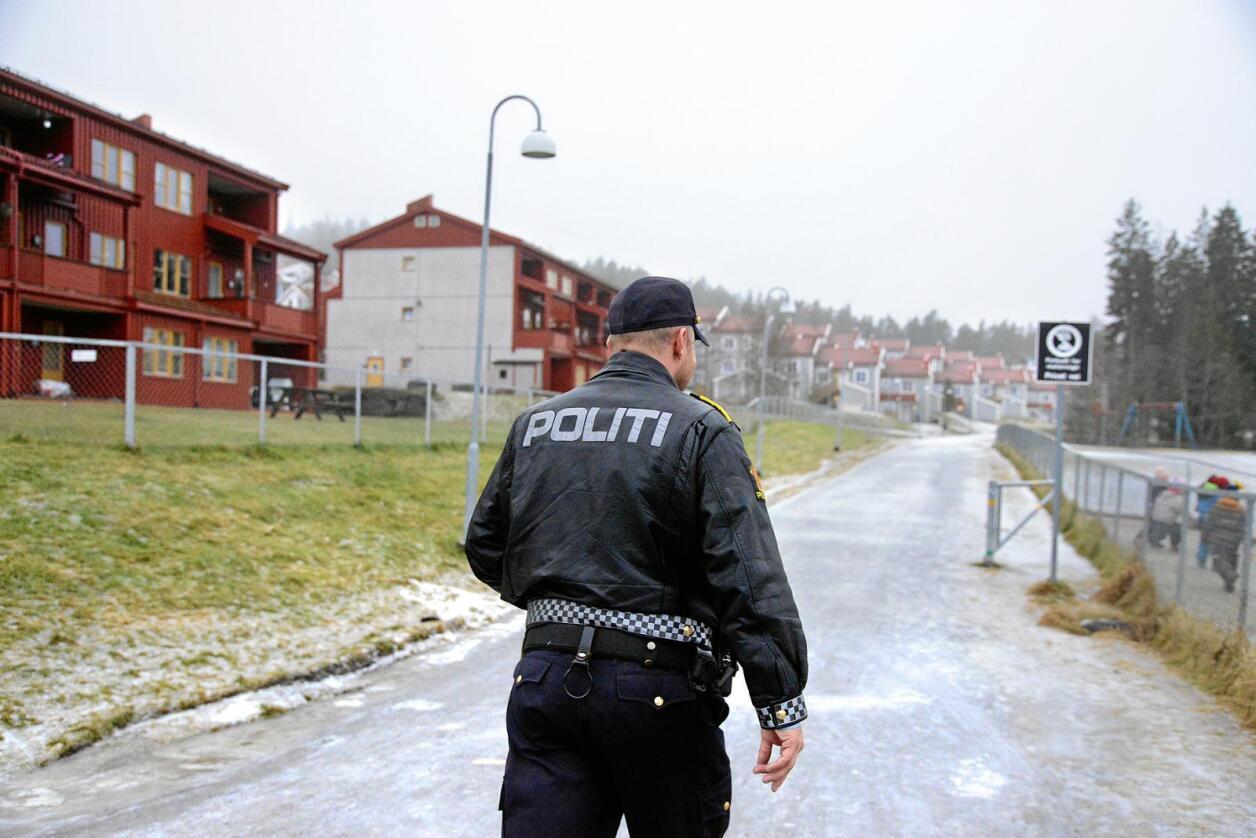 Det har blitt over 300 nye politistillinger hvert år, skriver Ulf Lerstein. Foto: Siri Juell Rasmussen