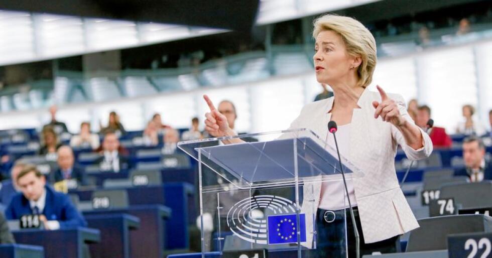Ny president: Forholdet mellom EU og Norge kommer fortsatt til å stå sterkt med Ursula von der Leyen i førersettet i Europakommisjonen. Foto: Mathieu Cugnot