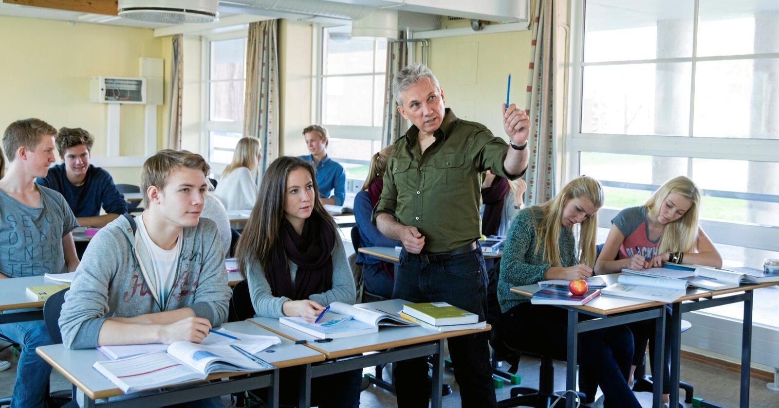 Skolevalg: Elevene bør få velge hvilken skole de skal gå på. Foto: Berit Roald / NTB scanpix