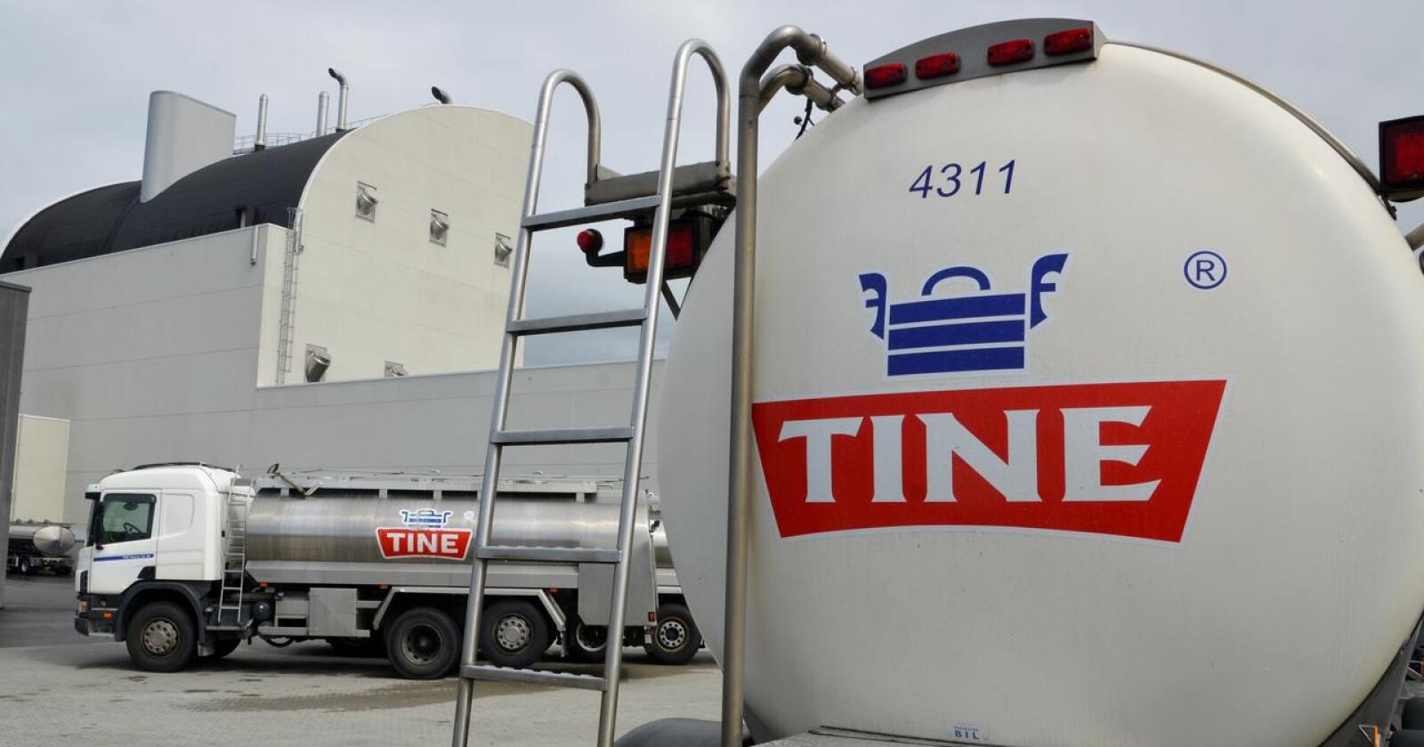 Over 113 millioner liter norsk melk ble solgt i første kvartal 2021. (Arkivfoto)