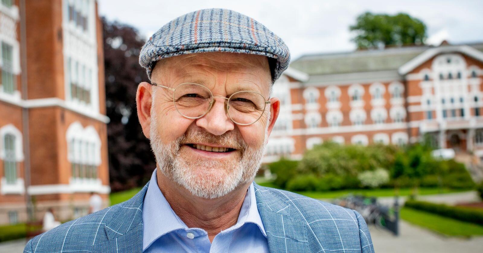 –  Nå når samfunnet er i en krise, er det ekstra viktig å sørge for at studentene har nok å leve av, sier NMBU-rektor Sjur Baardsen. Foto: Håkon Sparre