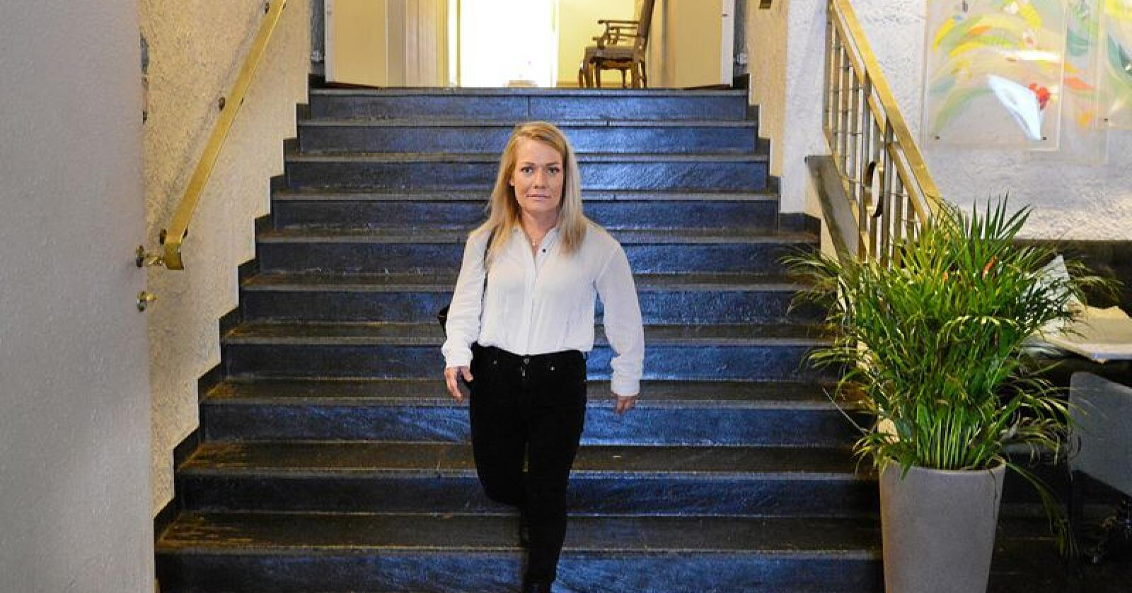 Etter det flere medier erfarer onsdag kveld blir Sandra Borch landets nye landbruks- og matminister. Foto: Siri Juell Rasmussen