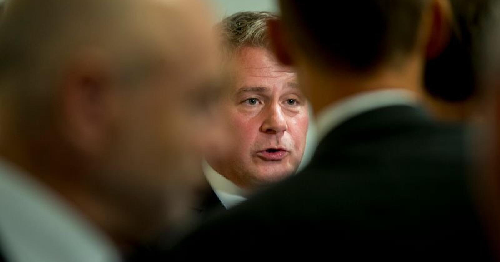 Tidligere justis- og beredskapsminister Per-Willy Amundsen. Foto: Vidar Ruud / NTB scanpix