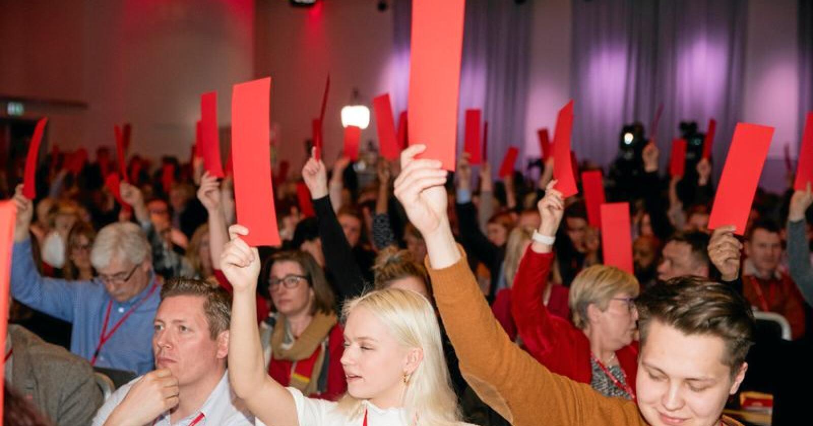 Oljevedtak: Arbeiderpartiet la en død sak død. Foto: Terje Pedersen/NTB scanpix
