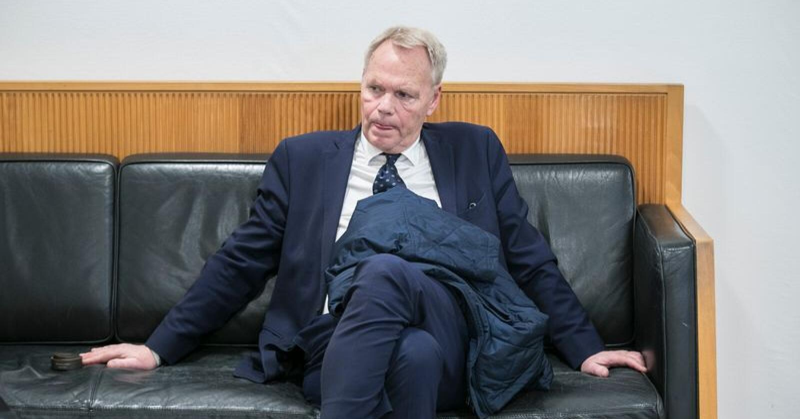 Ola Lunde forsvarer Per Yngvar Mathisen, som er siktet for grov korrupsjon. Økokrim mistenker at han har bestukket en selger i Nortura. Foto: Vidar Ruud / NTB scanpix