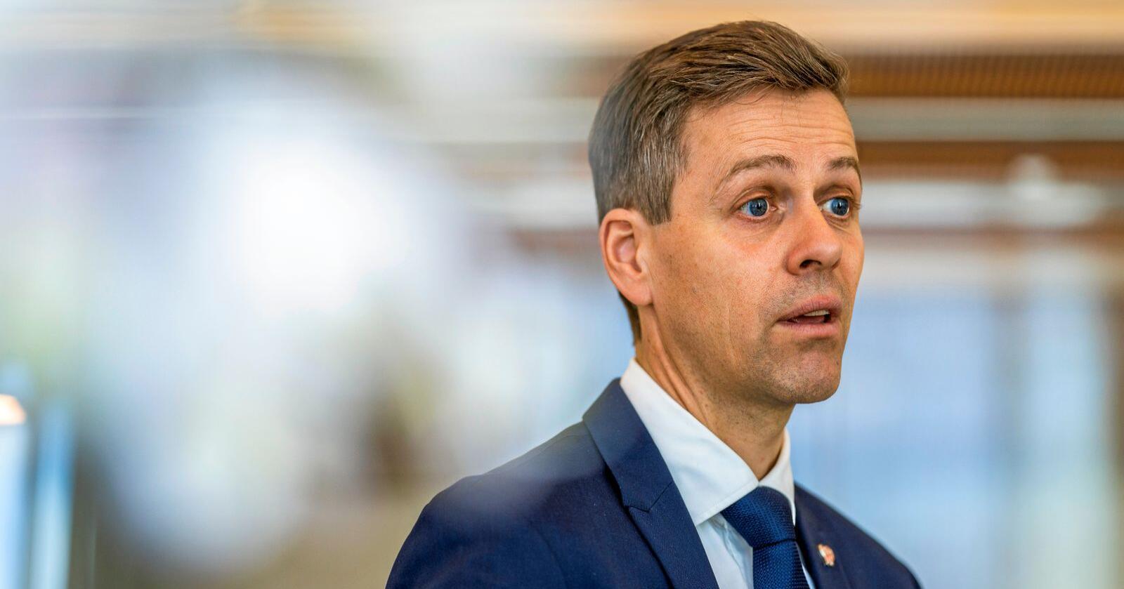 Samferdsleminister Knut Arild Hareide (KrF). Foto: Håkon Mosvold Larsen / NTB