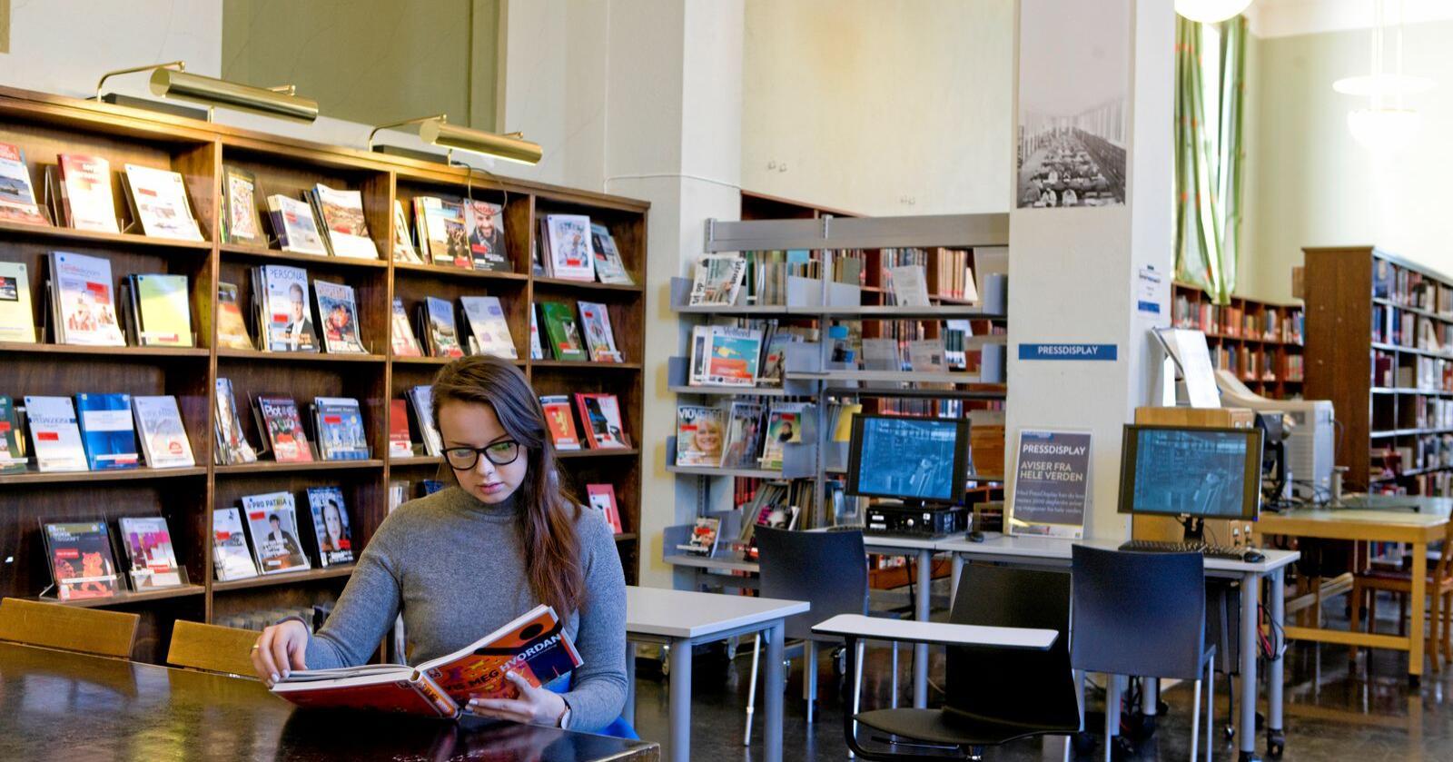 Utdanning: Kronikk-forfatteren skriver at stadig mer forskning viser at utdanning nå skaper nye klasseskiller. Foto: Thomas Brun / NTB scanpix
