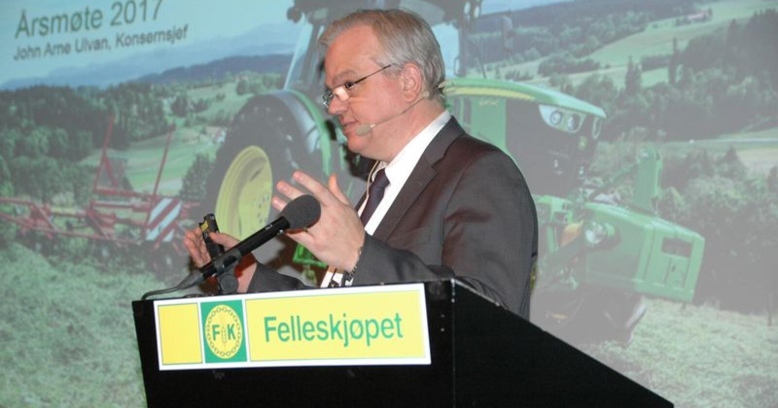 Effektene av årets sesong forventes å prege FKs resultater også første halvår 2019. – Sett under ett, og med markedsutviklingen tatt i betraktning, leverer vi et tilfredsstillende resultat for tredje kvartal, sier Konsernsjef John Arne Ulvan.