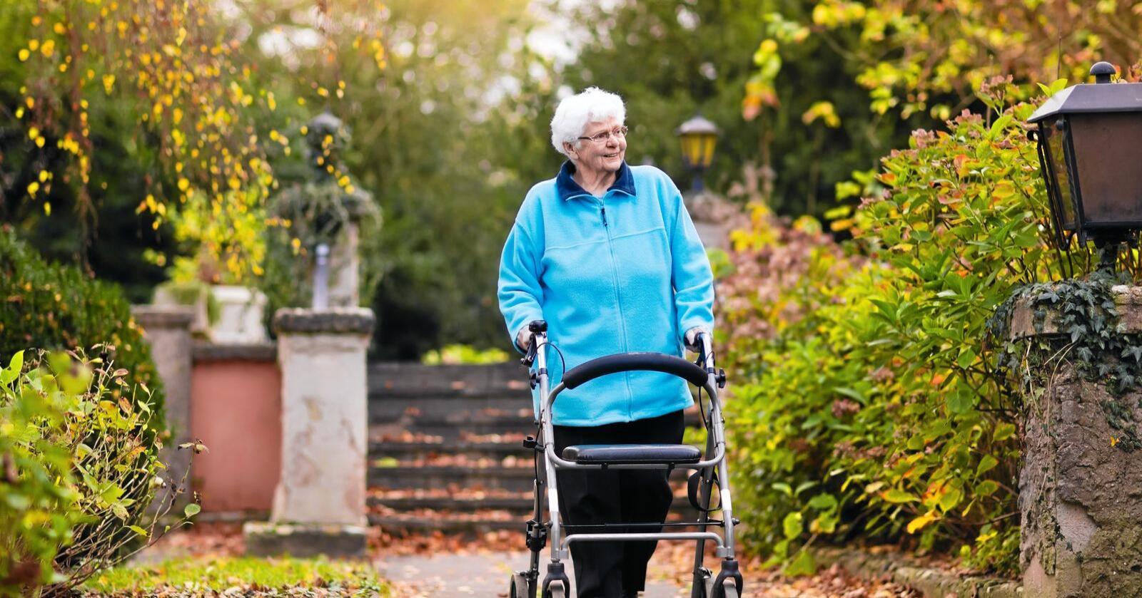 Positivt bilde: I rapporten beskriver forskerne positivt bilde av distrikter og aldring. Illustrasjonsfoto: Mostphotos