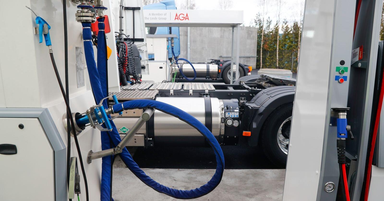På Jæren planlegges det nå en ny gigantisk fabrikk for produksjon av biogass og -drivstoff. Illustrasjonsfoto: Cornelius Poppe / NTB scanpix