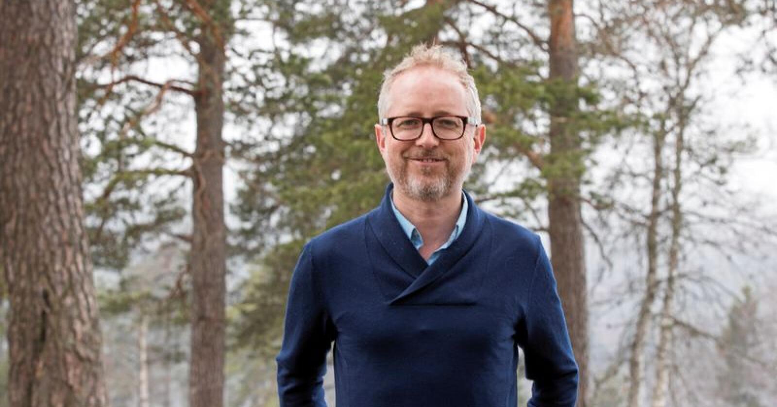 Generalsekretær Bård Vegar Solhjell i WWF. Foto: Terje Pedersen/NTB scanpix