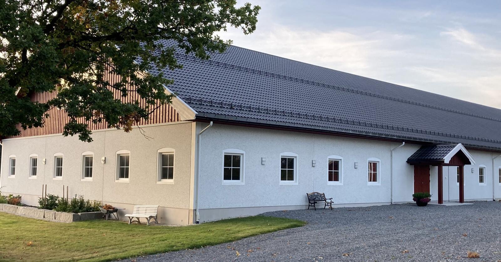 BORGEN: Et av rundt 500 landbruksbygg som Borgenbygg har satt opp. Foto: Privat