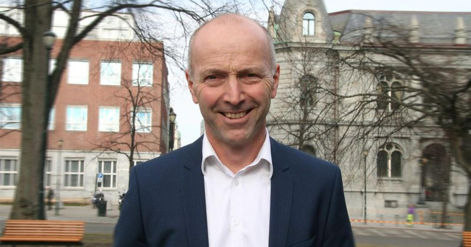 Gunnar Hovland er konsernsjef i Tine. Arkivfoto: Bondebladet