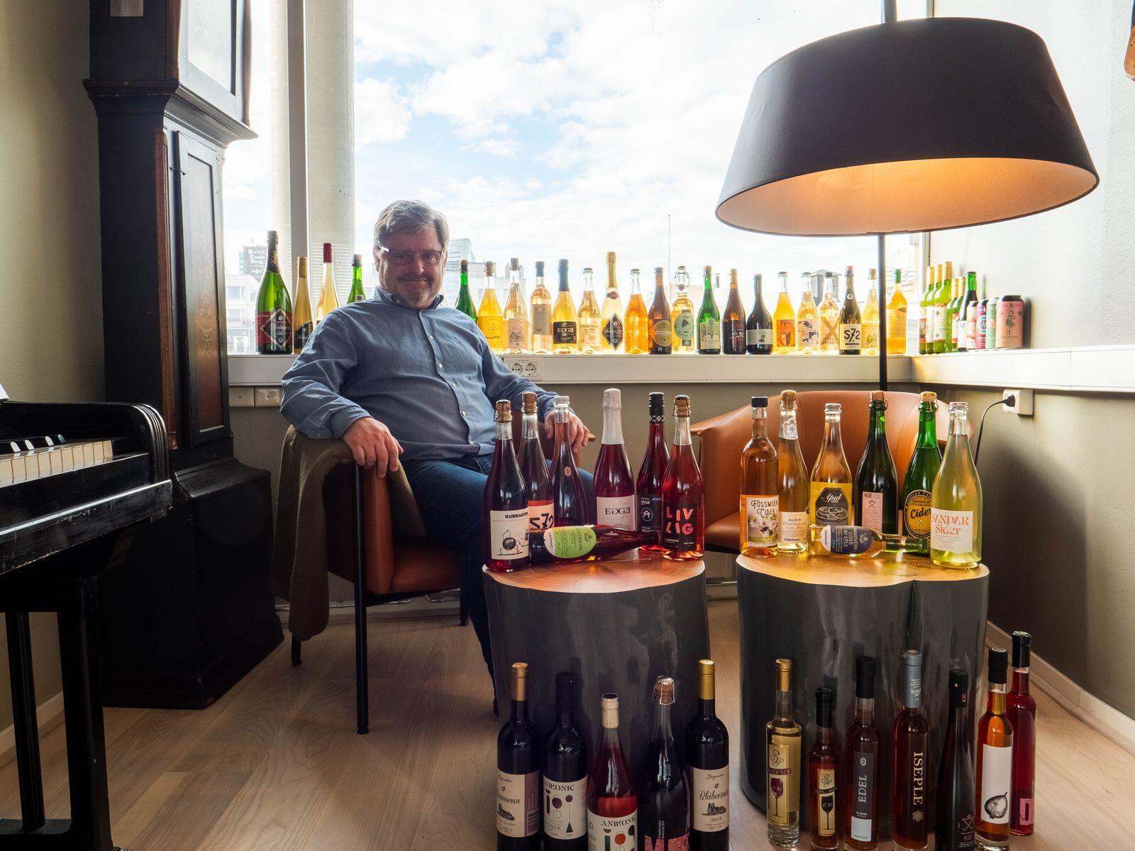 Scelta sempre più ampia: Bernd Butcher-Johannessen nell'Henan scrive che la Norvegia è diventata una nazione unilaterale.  Foto: Hanen