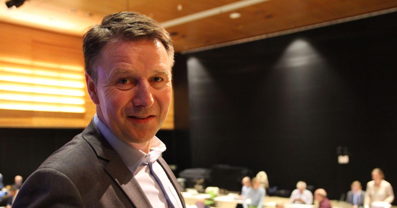 Lars Petter Bartnes på Bondetinget 2020. Foto: Guro Bjørnstad/Norges Bondelag