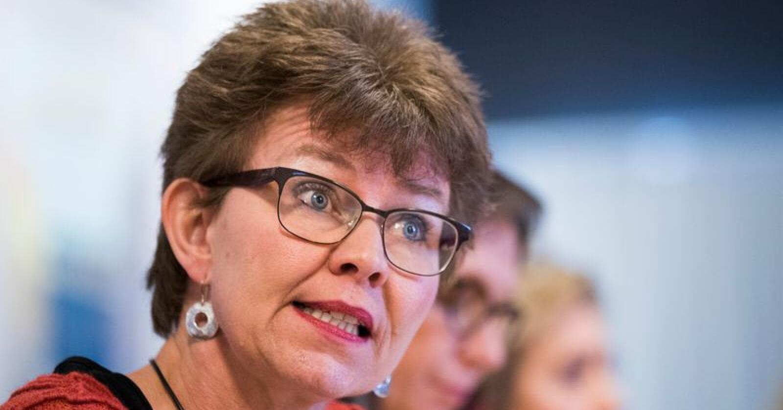Kathrine Kleveland er leder i Nei til EU. Foto: Håkon Mosvold Larsen / NTB scanpix