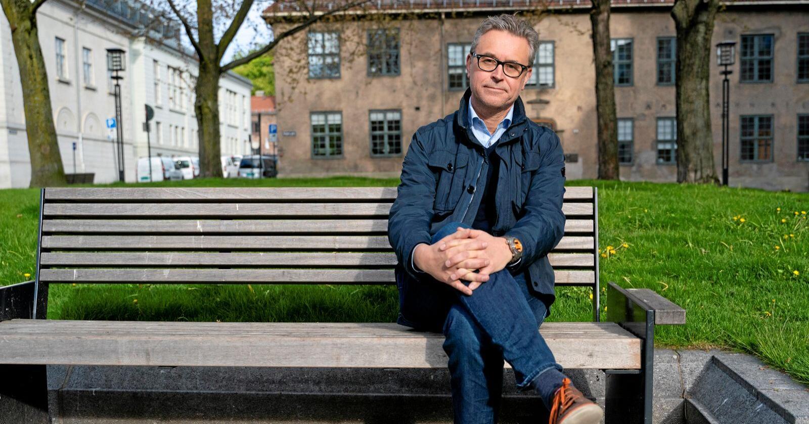 Fiskeri- og sjømatminister: Odd Emil Ingebrigtsen (H) insisterte på at kvotemeldingen ikke trengte mer utredning. Regjeringspartiene viste seg å være uenige i det. Foto: Fredrik Hagen / NTB scanpix