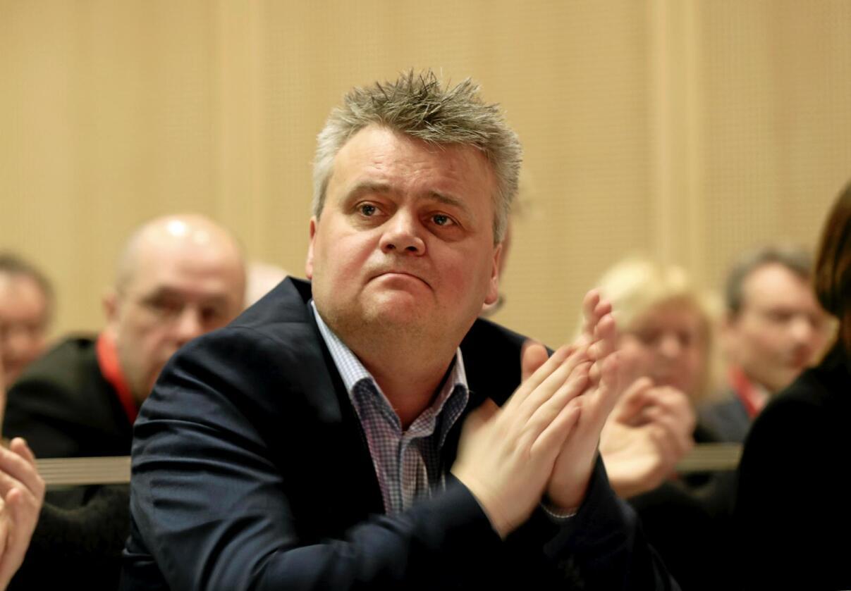 Jørn Eggum leder i Fellesforbundet, sier han forstår at folk er skeptiske til EØS-avtalen. Foto: Vidar Ruud / NTB scanpix
