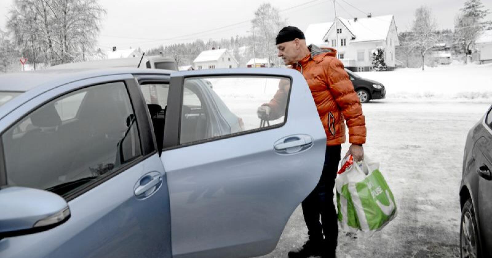Anders Dalane (63) fra Trøndelag kommer fortsatt til å handle rødt kjøtt i 2019. Foto: Mariann Tvete.