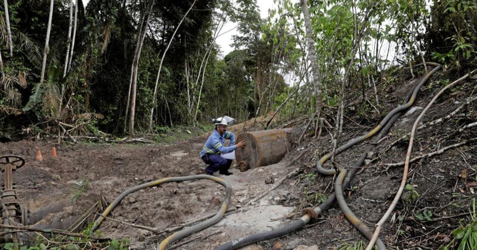 Alternativ: Om vi erstatter kobber med aluminium, kan vi la Repparfjord i fred. Prisen er flere slike gruver i Brasil - og høyere klimautslipp. Foto: Ricardo Moraes/Reuters