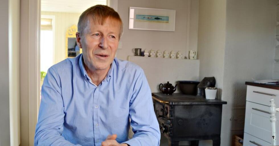 Per Skorge går av som generalsekretær i Bondelaget, og begynner som adm dir i Skogeierforbundet. Her er vi hjemme på gården hans i Maridalen. Foto: Linda Sunde