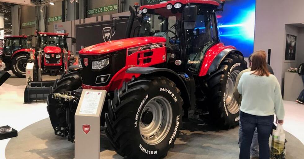 Det nye merket Mancel har kinesiske eiere, men traktorene produseres i Frankrike