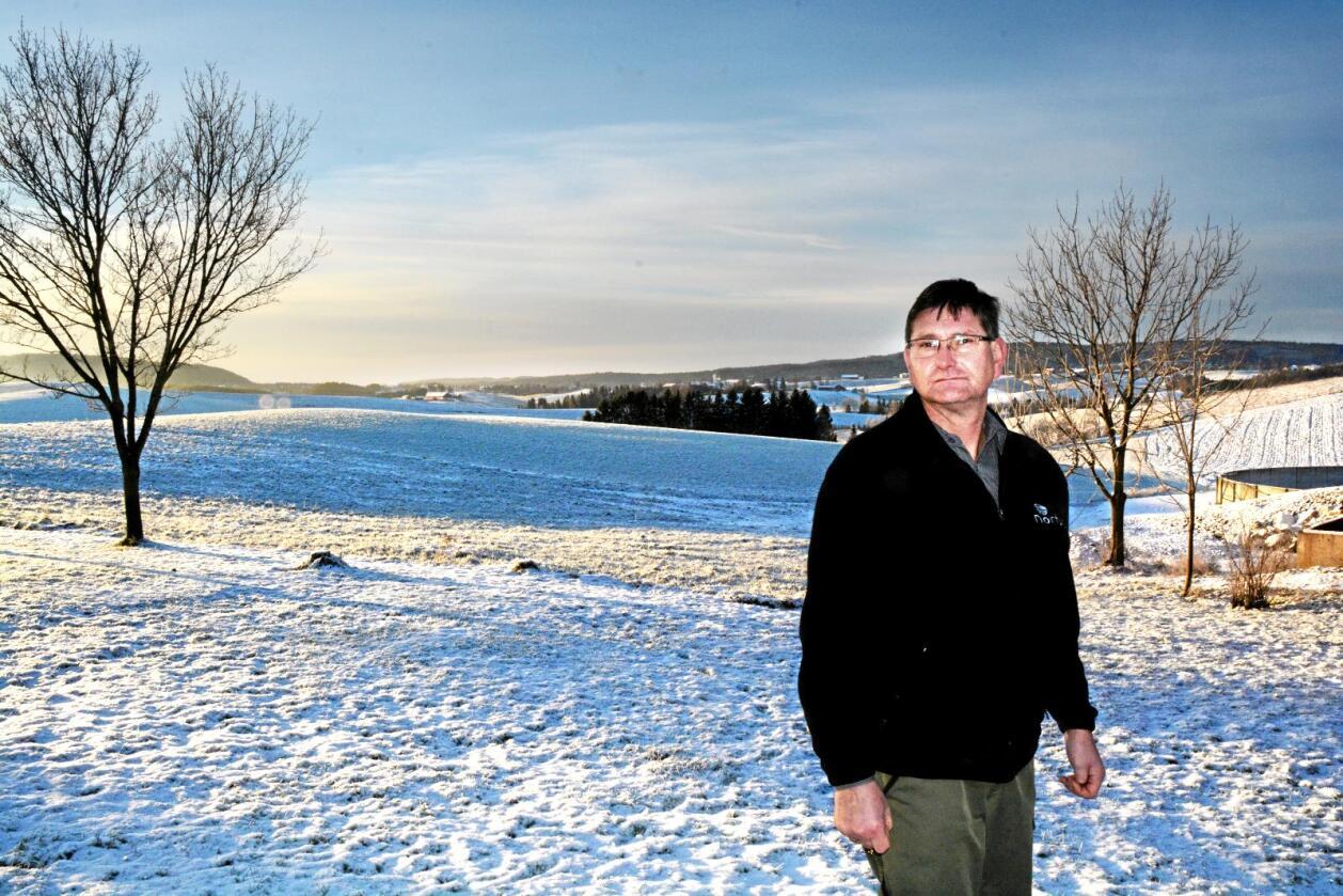 Overlevde: Ole Kristian Skallerud har vært involvert i en alvorlig landbruksulykke. Han berget livet, men fikk skader for livet. Foto: Stefan Offergaard